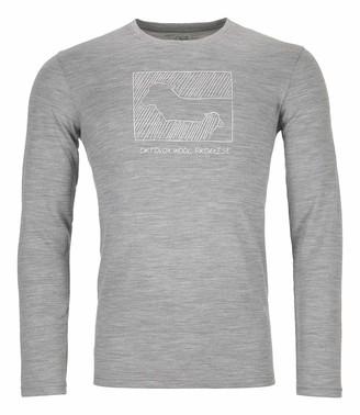 Ortovox Men's 185 Merino Contrast Shirt