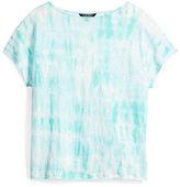 Ralph Lauren Tie-Dye Linen Knit Top