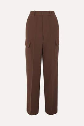Peter Do - Fireman Cady Straight-leg Pants - Brown