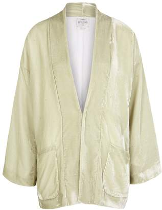 Forte Forte Pale Sage Glittered Velvet Jacket