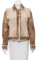 Clements Ribeiro Shearling Suede Jacket