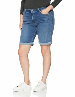 Levi's Plus Size Women's Pl Shaping Bermuda Short