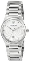 Victorinox Women's 241635 Victoria Analog Display Swiss Quartz Silver Watch