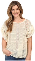 Lucky Brand Nomad Fringe Sweater