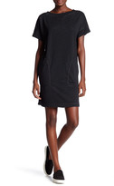 Max Studio Short Sleeve Knit Pouch Dress
