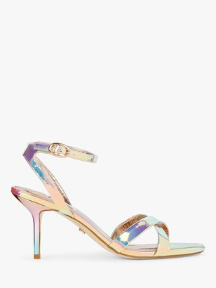 Dune Mirrors Cross Over Strap Sandals, Multi