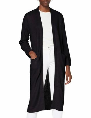 Pieces Women's PCSANDRA LS Long Knit Coatigan Jacket