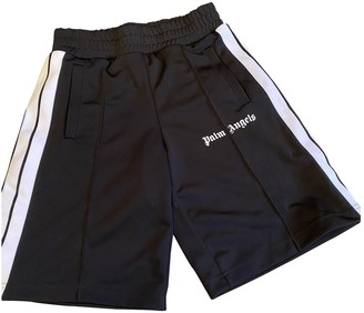 Palm Angels Black Cotton Shorts