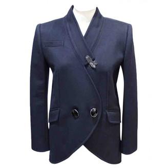 Alexis Mabille Blue Wool Jacket for Women