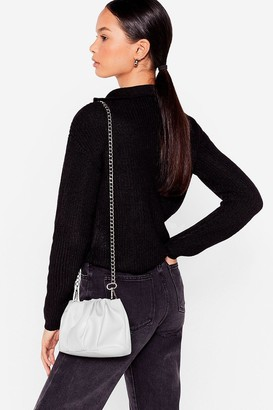 Nasty Gal Womens WANT Hey Let's Hang Mini Crossbody Bag - Black - One Size