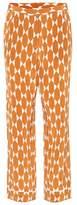 Tory Burch Devi silk trousers