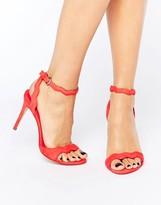 Aldo Carine 2 Part Heeled Sandal