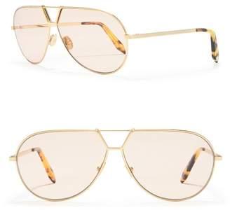 Victoria Beckham 65mm Aviator Sunglasses