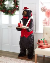 "Ditz Designs By The Hen House Christmas Bear Butler, 58"""