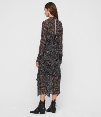 AllSaints Valeria Waterleo Dress
