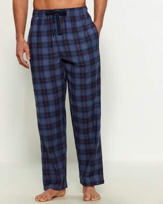 Izod Plaid Flannel Pajama Pants