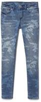 Gap Stretch camo super skinny jeans