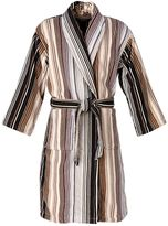 Christy Supreme capsule stripe robe small neutral