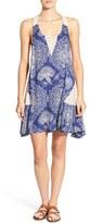 Rip Curl Women's 'Dakota Rose' Print Swing Dress