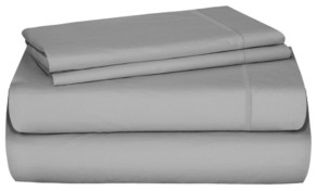 Distinct Dorm 4-Piece Sheet Set with Cell Phone Pocket on Each Side, Full Bedding