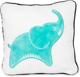 Jonathan Adler Crafted by Fisher Price Elephant Square Throw Pillow