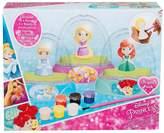 Disney Princess Disney Princess 3 Pack Paint Your Own Glitter Domes