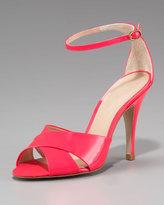 Pour La Victoire Patent Leather Sandal