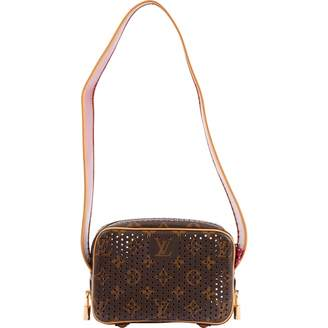 Louis Vuitton Trocadero Brown Leather Handbags