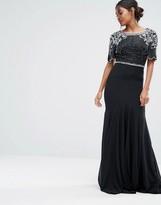 Virgos Lounge Embellished Fishtail Maxi Dress