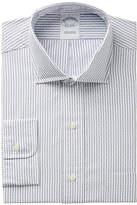 Brooks Brothers Men's Regent Slim-Fit Non-Iron Dobby Stripe Dress Shirt