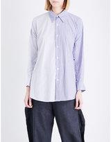 Limi Feu Oversized cotton-poplin shirt