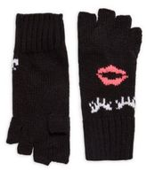 Flowers by Zoe Girl's Woven Embroidered Gloves