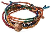 "Wakami Women's Bracelet 6 Strands - Multicolor (7.5"")"