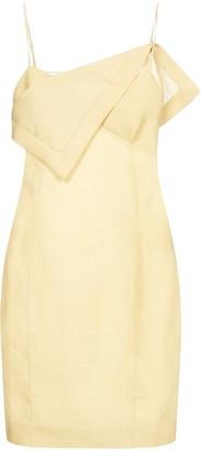 Jacquemus Drape Slip Dress