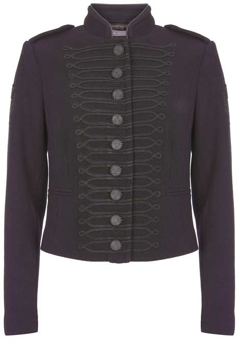 cozy fresh superior quality fashion style Womens Velvet Military Jacket - ShopStyle UK