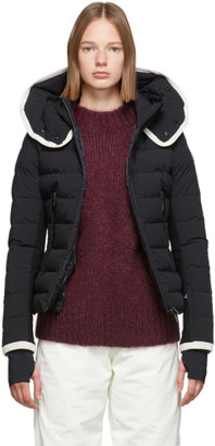 MONCLER GRENOBLE Black Down Lamoura Jacket