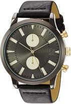 Steve Madden Women's Quartz Resin Casual Watch, Color:Black (Model: SMMW009BK)