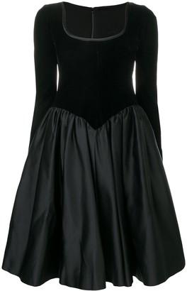 Yves Saint Laurent Pre Owned 1990's Flared Dress