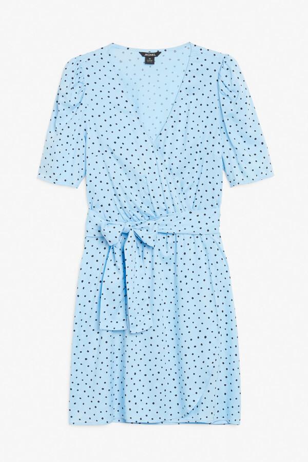 Thumbnail for your product : Monki V-neck mini dress