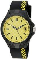 Ferrari Men's Quartz Multi Color Casual Watch (Model: 0830324)