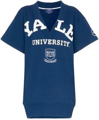 Calvin Klein Yale deep V short sleeved jumper