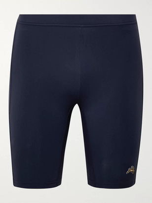 Tracksmith Reggie Stretch-Jersey Compression Shorts