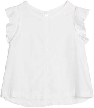 Bella Dahl Flutter-Sleeve Top, Size 8-14