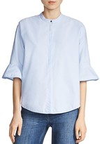 Maje Charly Flared-Sleeve Shirt