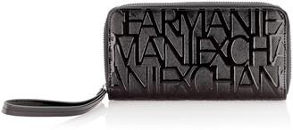 Armani Exchange Wristlet Round Zip Womens Wristlet