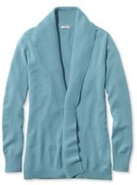 L.L. Bean Women's Classic Cashmere Sweater, Open Cardigan