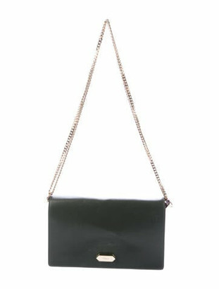 Nina Ricci Small Leather Dido Crossbody Bag green