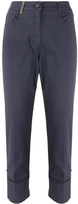 Peserico High-Waisted Trousers
