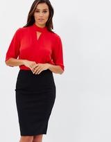 Forcast Selena Pencil Skirt