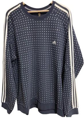 adidas Blue Cotton Knitwear for Women Vintage